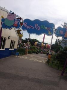 peppa pig land paultons park